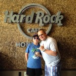 Nat and I kickin it at hardrock