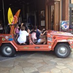 VW Thing at hardrockcafe Honolulu Hawaii